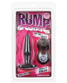 Rump Shakers Vibrating Butt Plug Small - Black