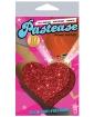 Pastease Red Glitter Heart O/S
