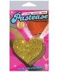 Pastease Gold Glitter Heart O/S