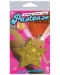 Pastease Gold Glitter Star O/S