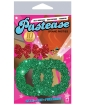 Pastease Glitter Wreath w/Red Bow Nipple Covers