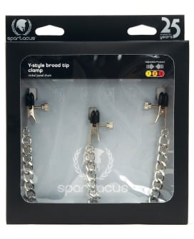 Y-Style Broad Tip Nipple Clamps & Clit Clamp