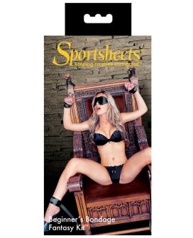 Sportsheets Beginner's Bondage Fantasy Kit