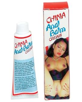 China Anal Balm Cream Soft Packaging - .5 oz