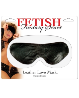 Fetish Fantasy Series Love Mask Leather Blindfold