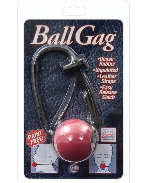 Ball Gag - Red