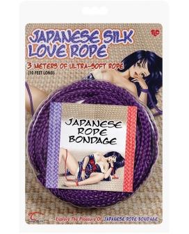 Japanese Silk Love Rope - 10' Purple
