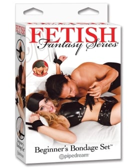 Fetish Fantasy Series Beginner's Bondage Set - Black