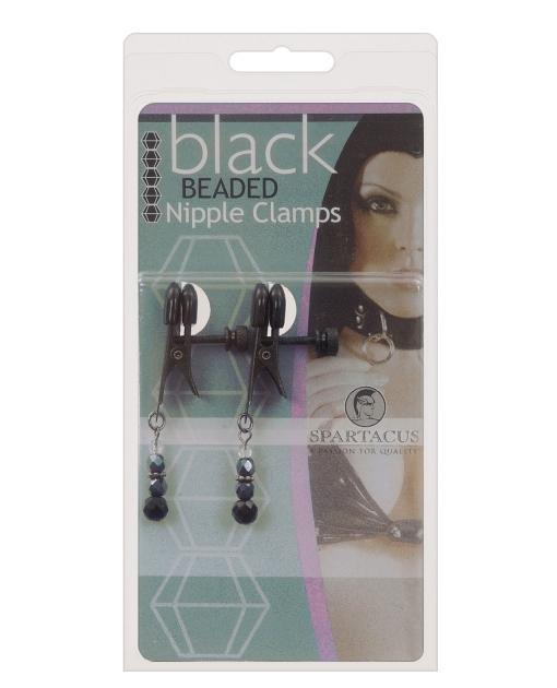Black Beaded Nipple Clamps