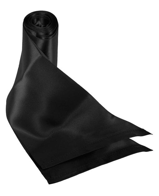 Sex & Mischief Silky Sash Restraints - Black