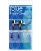 Adjustable Broad Tip Blue Beaded Nipple Clamps