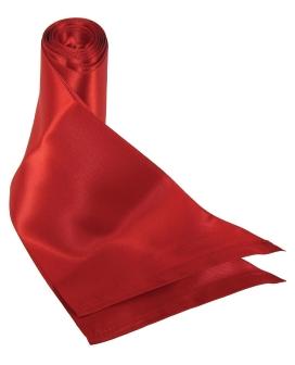 Sex & Mischief Silky Sash Restraints - Red