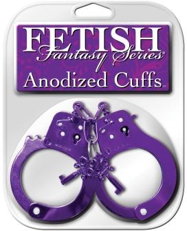 Fetish Fantasy Series Anodized Cuffs - Purple