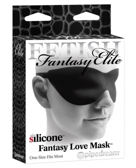 Fetish Fantasy Elite Love Mask - Black