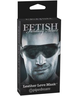 Fetish Fantasy Limited Edition Leather Love Mask