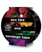 Sex Ties & Bondage Tape - Black