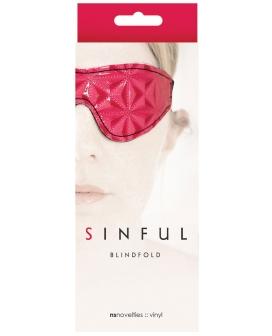 NS Novelties Sinful Blindfold - Pink