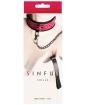 NS Novelties Sinful Collar - Pink