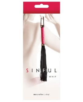 NS Novelties Sinful Whip - Pink