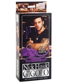 Nick Hawk Gigolo Sinful Desires Kit - Purple