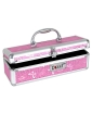 Lockable Vibrator Case - Pink