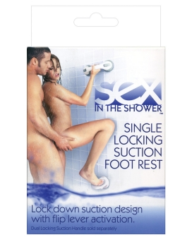 Sex in the Shower Single Locking Foot Rest