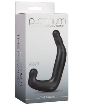 Platinum Silicone The P-Wand - Charcoal
