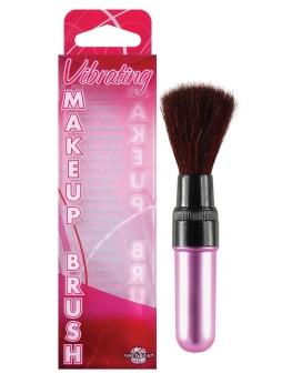 Vibrating Mini Makeup Brush - Pink