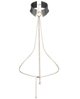 Bijoux Indiscrets Desir Metallique Collar - Black