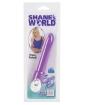 Shane's World Sorority Rush 3 Speed Waterproof Vibe - Purple