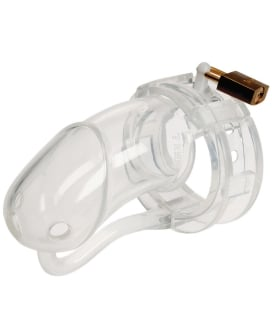 Malesation Silicone Penis Cage Large - Clear