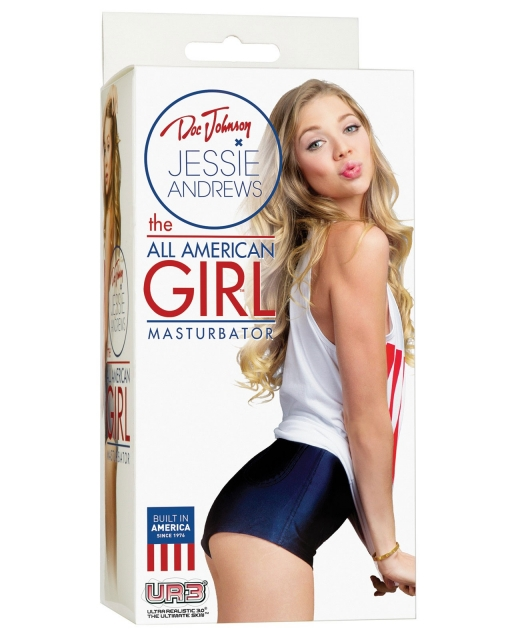 Jessie Andrews UR3 Stroker