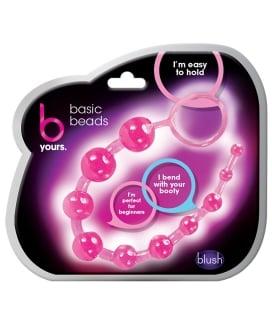 Blush Basic Anal Beads - Pink