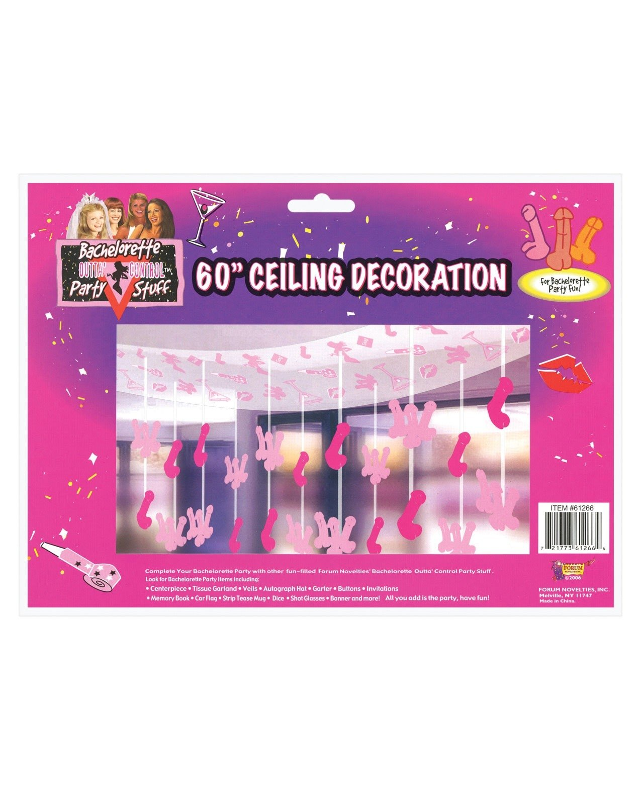 Bachelorette ceiling decoration for Bachelorette decoration