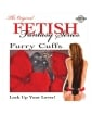 Fetish Fantasy Series Furry Handcuffs - Red