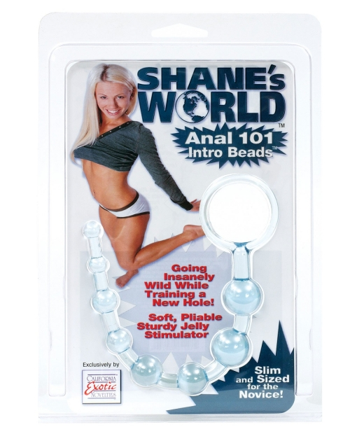 Shane's World Anal 101 Intro Beads - Blue