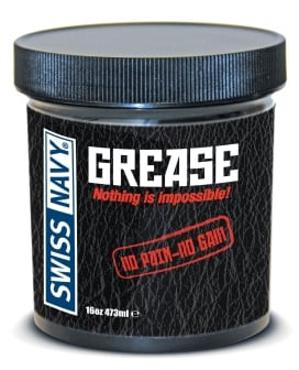 Swiss Navy Grease - 16oz Jar