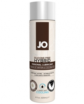 JO Silicone Free Hybrid Cooling Lubricant w/Coconut - 4 oz