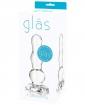 """Glas 4"""" Butt Plug - Clear"""
