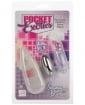 Pocket Exotics Snow Bunny Bullet - Clear