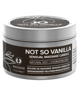 JO Not So Vanilla Soy Sensual Massage Candle - 1 oz