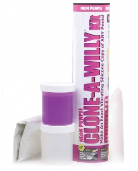 Clone A Willy Kit Vibrating - Neon Purple