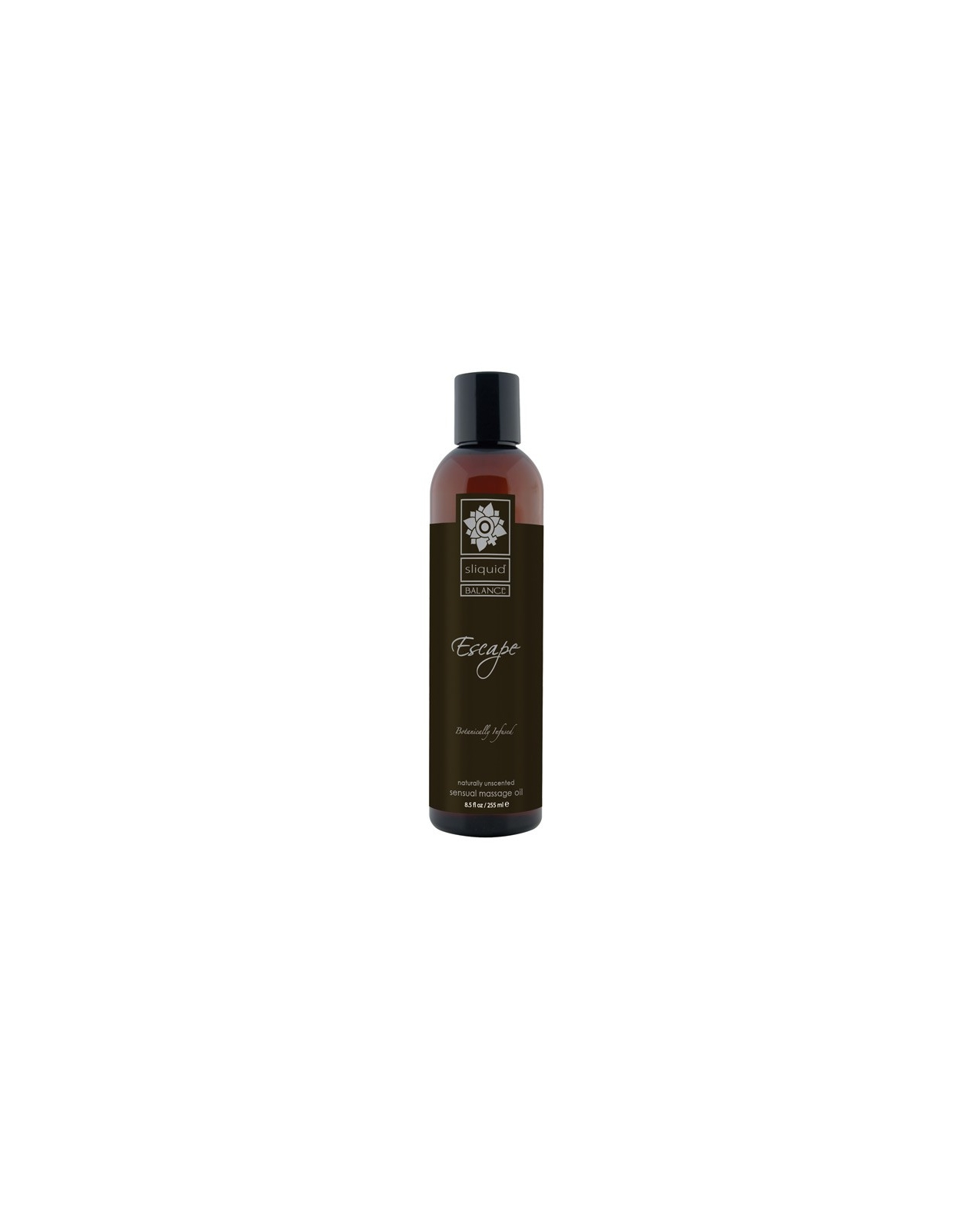 Sliquid Organics Massage Oil - 8.5 oz Escape