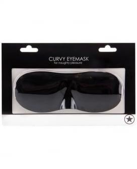 Shots Ouch Curvy Eye Mask - Black