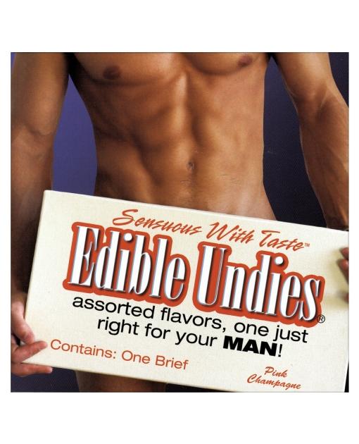 Men's Edible Undies - Pink Champagne