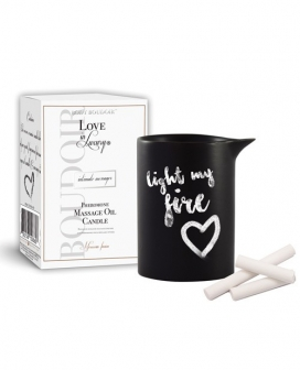 Love in Luxury Intimate Messages Massage Candle w/Pheromones - 5.2 oz Moroccan Fusion