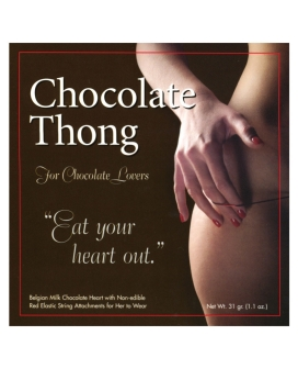Chocolate Thong for Her