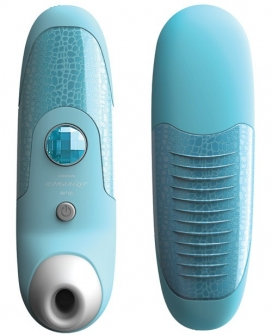 The Womanizer W100 - Blue Crocodile Print