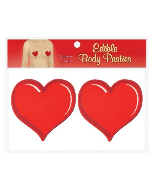 Edible Body Pasties - Cinnamon