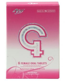 G Female Herbal Enhancement Tablets - Box of 6